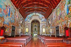 Inside the Parish Church of Válega (Ovar), Portugal. Photo: Susana Soares