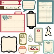 Eye-catching icons, lists and more are all featured in these K&Company Kelly Panacci Die-cut Cardstock embellishments. Design cards, decorations, scrapbook pages and more. Non-adhesive. Includes 39 pieces in various sizes. Admit One, Yarn Shop, Paper Design, Design Cards, Cute Crafts, T Shirts With Sayings, Die Cutting, Scrapbook Paper, Scrapbooking