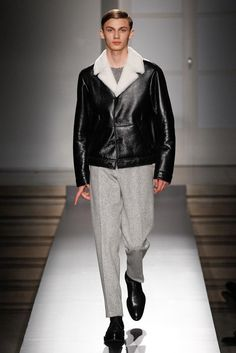 Jil Sander Fall 2014 Menswear - Collection - Gallery - Look 1 - Style.com
