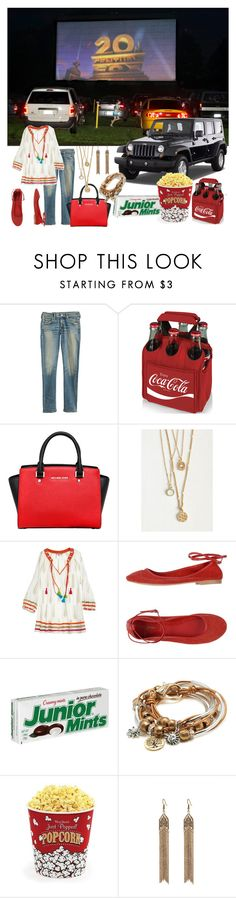 """""""Drive in Movie Theater"""" by auds78 ❤ liked on Polyvore featuring Wrangler, Citizens of Humanity, Picnic Time, MICHAEL Michael Kors, Calypso St. Barth, Manila Grace, Lizzy James, West Bend, Simons and DateNight"""