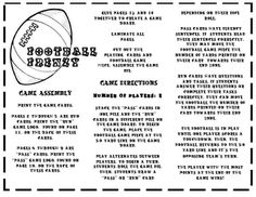 football themed game