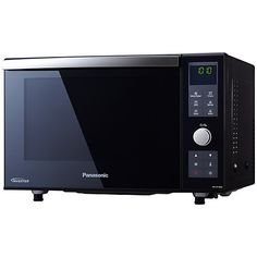Buy Panasonic NN-DF386BBP Freestanding 3-in-1 Combination Microwave Oven with Grill, Black Online at johnlewis.com