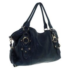 New York Hobo Handbag (Blue),$39.95