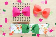 Crepe Paper Bow