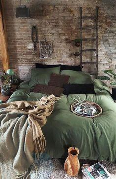 Bohemian Bedroom Decor And Bed Design Ideas Small Space Interior Design, Interior Desing, Interior Exterior, Home Interior, Interior Styling, Interior Inspiration, Cosy Bedroom, Bohemian Bedroom Decor, Dream Bedroom
