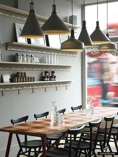 "crêpe restaurant | ""la petite bretagne"" | london | by paul crofts studio."