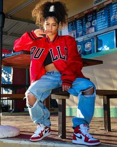 💙 Look at that outfit! 💙 How many stars would you rate it? Rate fashion and get feedback on your style from all over the world 🌎 The Baddie Outfits Casual, Cute Swag Outfits, Dope Outfits, Teen Fashion Outfits, Retro Outfits, 90s Hip Hop Outfits, Casual Dresses, Fashion Dresses, Teenage Girl Outfits