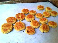 Baked Chickpea Fritters - © Miri Rotkovitz