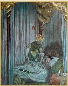1911, Anderson's Fairy Tales illustrated by Edmund Dulac