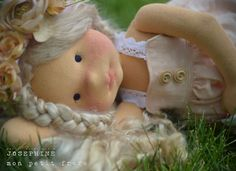 """Josephine-20"""" natural fiber art doll by Mon Petit Frère :: Dollectable In-stock Store"""