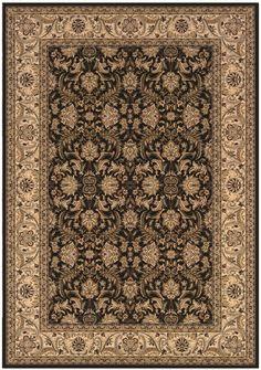 Couristan Oriental Rugs Himalaya Isfahan Ebony