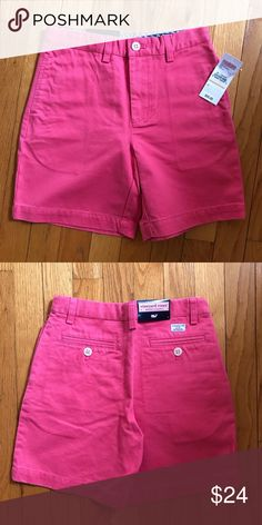 b76f1c8031 NWT Vineyard Vines Club Shorts Sailors Red Size 7 NWT 100% cotton twill  shorts.