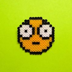 Emoticon hama beads by  doodle.home