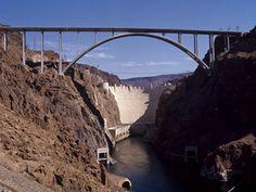 Hoover Dam!!  And that incredible bridge...