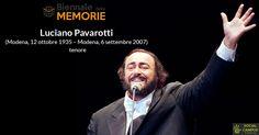 #Accaddeoggi 8 anni fa ci lasciava il grande tenore #LucianoPavarotti