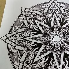 Day 184 of the #solsticemandala!!!.. Today is the Winter Solstice which marks the end of my Solstice Mandala Project and of my Indiegogo Campaign! Although we didn't raise the total amount we were...