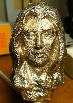 Billede af bronzestøbning din 3-D print