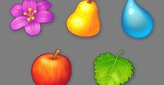 Resultado de imagen de match 3 fruit game