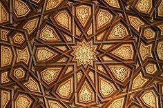Geometric woodcarving