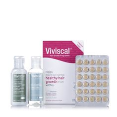 400864 Viviscal Max Strength Healthy Hair 90 Days Supply Starter Kit QVC Price: £99.00 + P&P: £5.95 This Healthy Hair Starter Kit from Viviscal contains a three month supply of maximum-strength supplements, scientifically formulated with important nutrients to help maintain normal and healthy hair growth. With a gentle shampoo and conditioner, this starter kit will help you maintain normal, healthy hair growth whatever your hair is going through.