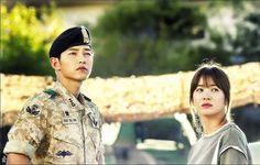 Song Joong Ki & Song Hye Kyo ❤  Yoo Shi Jin & Kang Mo Yeong  ❤ 송중기 & 송혜교  태양의후예  descendantsofthesun