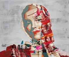 "Saatchi Online Artist: Hossam Hassan Dirar; Paint, 2012, Mixed Media ""Once Upon a Star"""