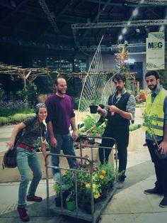 #empathygarden plants giving moment @#orticolario2014 #padiglionecentrale #villaerba