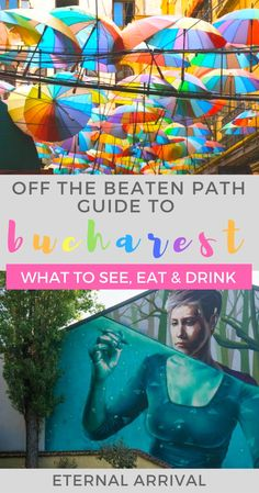There are so many things to do in Bucharest just off the beaten path. Learn about hidden gem photo spots, funky street art, delicious food, Instagrammable streets & more in this travel guide to #Bucharest #Romania