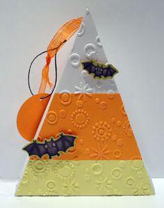 Luv 2 Scrap n' Make Cards: Candy Corn Boxes