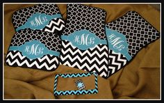Gift Set Front and Back Personalized Car Mats  by ChicMonogram, $155.00