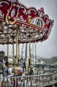 Great wall art for the kid's room... the old carousel on Jenkinson's Boardwalk in Pt Pleasant, NJ.