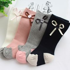 Find More Socks Information about 2016 Fashion Baby Socks Baby Girl Knee High Socks With Bows Cotton Infant Long Socks Kids Korean Style Princess Pink Cute Brand,High Quality sock monkey baby clothes,China socks fur Suppliers, Cheap sock apparel from Dreamy Garden on Aliexpress.com