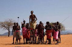 Kenya. Looks like the Samburu tribe I visited! They did this dance :)