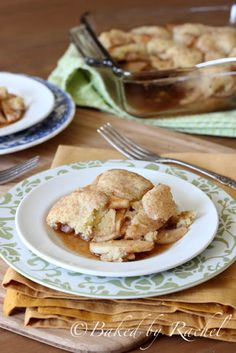 Apple Snickerdoodle Cobbler. YUMMY!