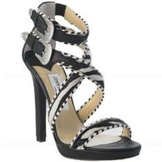 Jimmy Choo Printed Pony Sandals -$185