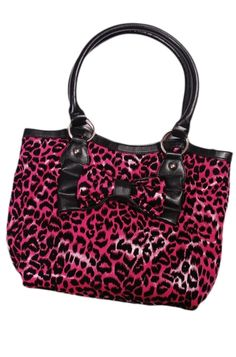 Rock Rebel - Coco Leo Tote Bag (Pink)