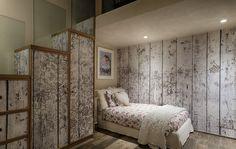 L'architetto Luca Tausani ha scelto le carte da parati di Inkiostro Bianco per rendere unici tutti gli interni di una villa privata a Cattolica (Rn).