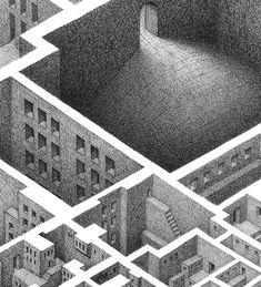 MATHEW BORRETT - detailed drawing