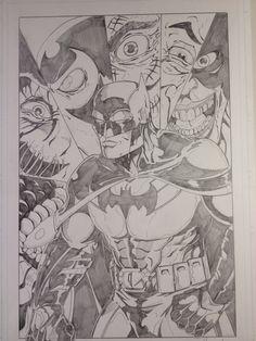 Batman Art Of Dan, Comic Art, Batman, Cartoon, Comics, Anime, Cartoon Movies, Cartoons, Anime Music