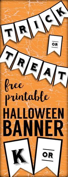 Free Printable Halloween Skull Decoration Banner Free Printables - halloween decoration printables