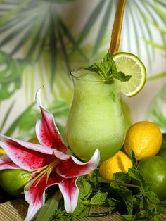 Classic frozen mojito. One of those drinks every woman should know how to make.