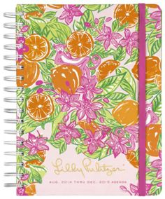 Cahoon's Closet - Lilly Pulitzer Large 2014-15 Agenda -  Peelin Out, $28.00   (http://www.cahoonscloset.com/shop-by-category/stationery-calendars/lilly-pulitzer-large-2014-15-agenda-peelin-out/)