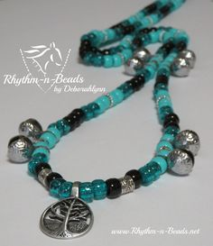 Rhythm-n-Beads® by Deborahlynn by RhythmnBeads Horse Necklace, Beaded Necklace, Necklaces, Bracelets, Collar Styles, Tack, Saddle Bags, Breast, Horses