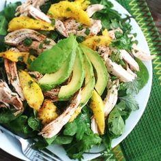 Mango, Chicken and Avocado Salad Recipe