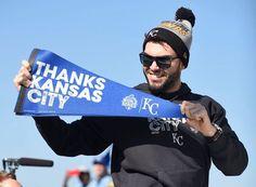 2015 Kansas City Royals World Series Champs.... Downtown Parade.... HOSMER