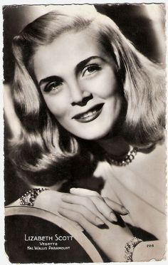 Lizabeth Scott - (1922-2015) born Emma Matzo. Broadway and film star. TV performances from 1940's to 1970's.