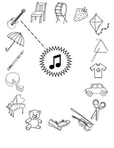 Music Lessons For Kids, Music For Kids, Music Education Activities, Preschool Activities, Music Worksheets, Worksheets For Kids, Coloring Pages To Print, Coloring Books, Kindergarten Music