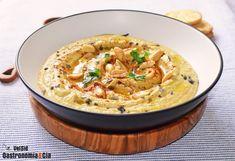 Hummus con crema de cacahuete Food N, Risotto, Dips, Ethnic Recipes, Gastronomia, Vegetarian, Home, Arabic Recipes, Peanut Butter