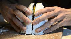 video tutorial paso por paso para producir un molde de caucho de siliconas, por…