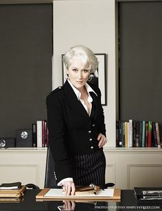 """The devil wears Prada"" successful women"